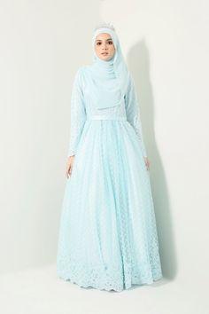 The premier destination for modest fashion wear. Hijab Prom Dress, Muslimah Wedding Dress, Hijab Style Dress, Muslim Wedding Dresses, Hijab Bride, Muslim Dress, Bridesmaid Dresses, Kebaya Wedding, Wedding Hijab