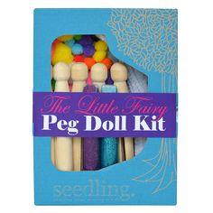 The Little Fairy Peg Doll Kit by Seedling.com