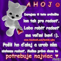 ♥ pre radosť