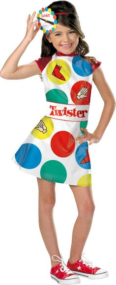 Girls Cutie Twister Costume - Party City