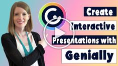 Create interactive presentations for students with Genially! #vestals21stcenturyclassroom #genially #geniallytutorial #howtousegenially #geniallyeducation #interactivepresentations #howtomakeinteractivepresentations #geniallypresentation