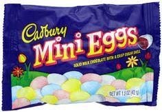 LOVE Cadbury Easter eggs.  Wish they weren't just seasonal :):