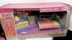 1965 Remco Heidi Doll Hospital set in box   #1040028827