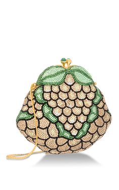 Yellow Grapes Minaudiere by HERITAGE AUCTIONS SPECIAL COLLECTION for Preorder on Moda Operandi