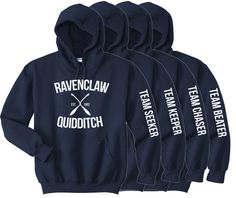 Ravenclaw Quidditch Choose Your Team Position by LucyGooseCo