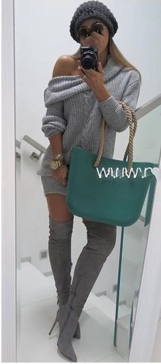 Sweter warkocz sukienka komin ramię Siwiec Zara