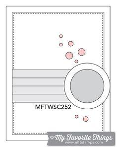 MFT Card Challenges: Wednesday Sketch Challenge - Sketch 252 10-28-15