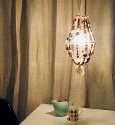 DIY home crafts DIY kates beaded chandelier DIY home crafts