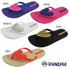 IPANEMA big heart thong sandals イパネマ BIGハートビーチサンダル