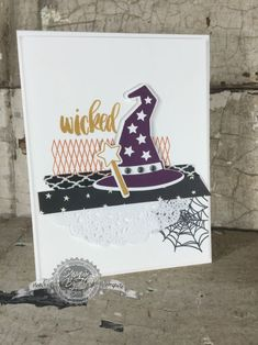 Comparison! Did I Just Do That? Plus a fun Halloween card. Stampin' Up!- StampinByTheSea.com