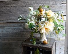 dahlias, ranunculus (my favorite), queen anne's lace