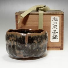 Vintage Seto Chawan - Japanese pottery tea bowl #1999 - ChanoYu online shop