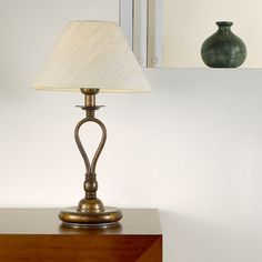"""Lustrarte Lighting Modern Dali 18.11"""" H Table Lamp with Empire Shade"""