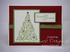 Fun Christmas Card (Stampin' Up)