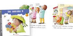 Los sentidos II / Josefina Carrera. Cuentos para aprender a leer. Iniciación a la lectura con letra mayúscula y letra cursiva.