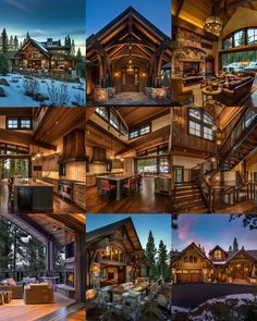 Home Plate #Lodge by Ward Young #Architects #MartisCamp #LakeTahoe #LogCabin #Rustic #MountainHome