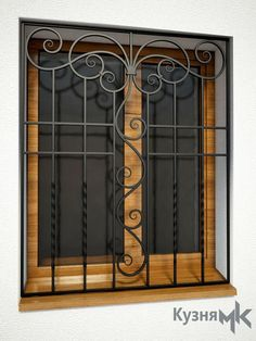 Кована решітка на вікно GR10 Window Grill Design, Iron Furniture, Blacksmithing, Ramen, Woodworking, House Design, Windows, Doors, Home Decor