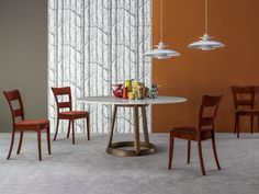 GREENY Round table by Bonaldo design Gino Carollo