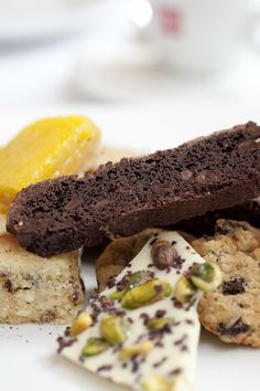 NYT Cooking: The recipe for these superb biscotti came to The Times in 2009 from Union Square Cafe, the Manhattan restaurant. Wrap a few of these up as a parting gift for dinner guests, or eat a few and stash the rest in the freezer for a treat any time.
