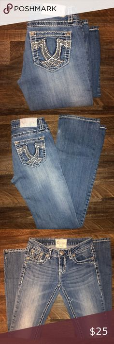 AVENUE STITCHED BACK POCKET BOOTCUT JEANS = SIZE 16 AVEAGE= NEW WITH TAGS