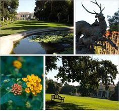 The Huntington Gardens in Southern California