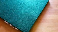 Glitter Felt - Kelly Green  - Christmas Crafting Decorating - Kunin Eco-Fi Felt Made from Recycled Plastic Bottles Eco Friendly Polyester by LoveEllieBagMaking Find it now at http://ift.tt/2dI1kEq!
