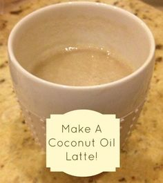 Put coconut oil in coffee? Really? YES! Try it - you'll love it as much as I do - promise!