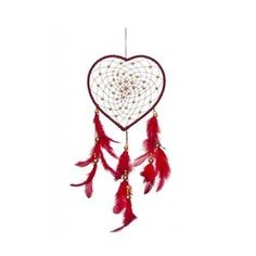 Dream Catcher Wall Hanging - Brown Feather Dream Catcher Wholesaler from Delhi Buy Dream Catcher, Feather Dream Catcher, Red Feather, Wool, Beads, How To Make, Crafts, Things To Sell, Home Decor