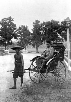 Riksja, Medan. 1900-1940 (globaal)