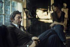 "© Claude Gassian - ""Serge Gainsbourg et Jane Birkin, rue de Verneuil"" - 1974"