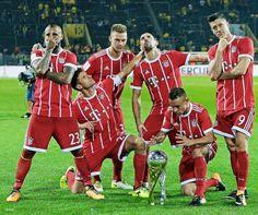 Super Cup 2017 celebration.
