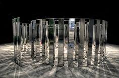 Mirror installation at Arken Museum of Modern Art, via Flickr.