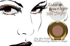 brown eye makeup tips taupe 1