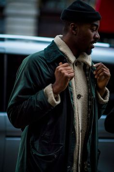 London Fashion Week Men's AW17: the strongest street style.