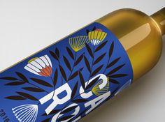 Aurora Creative Studio on Behance South African Wine, Kingfisher Bird, Chenin Blanc, Wine Label Design, Flat Shapes, Flat Illustration, Creative Studio, Wedding Stationery, Wines