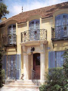 Mediterranean Exterior Color Schemes Design, Pictures, Remodel, Decor and Ideas - page 3  Beautiful subtle colour scheme