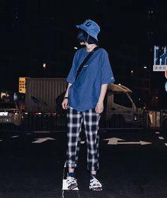 K Fashion, Ulzzang Fashion, Grunge Fashion, Asian Fashion, Fashion Outfits, Grunge Outfits, Boyish Outfits, Casual Outfits, Unisex Outfits
