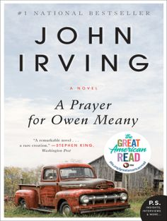 A Prayer for Owen Meany by John Irving - BookBub Book Club Books, Book Lists, Good Books, Books To Read, Big Books, Reading Books, Book Series, Free Books, John Irving Books