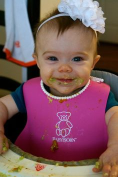 How I started my 6 month old with Baby led Weaning #BLW
