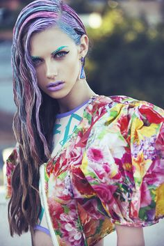 Shot by Ted Emmons Stylist: Palma Wright (Mamadoux) Mua: Crystal Liz Hair: Sal Salcedo Model: Yulia Rose
