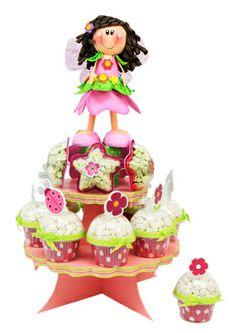 Despachador de dulces para fiesta de niñas. Centro de mesa. Termofotmado / Fomy / Fomis / Foamy