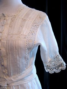 Vintage dress 1910s Downton Abbey wedding by vintageboxofdelights, $150.00