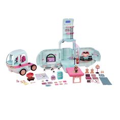 LikeNew LOL Surprise Doll House 85 Surprises 3/' Lights Sounds  Free Shipping