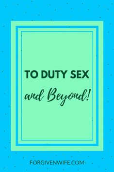 Duty sex done well can play a role in the journey toward true intimacy in our marriages—as long as we don't stop there. Sexless Marriage, Intimacy In Marriage, Marriage Help, Marriage Relationship, Marriage Advice, Godly Marriage, Healthy Relationship Tips, Healthy Relationships, Healthy Marriage