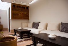 Riad Le J outdoor seating