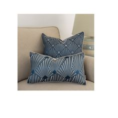 Art deco Case pillow, Back velvet cushion cover, elegant pillowcase, 30x50cm,pillow with piping, navy blue pillow case, decorative cushions