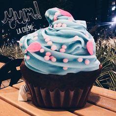 #bluecupcake  Para Los #cupcakelovers