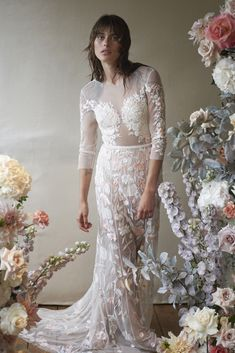 See the Fall 2020 wedding dresses from Hermione De Paula bridal. Gown Photos, Wedding Dresses Photos, Fall Wedding Dresses, Tulle Wedding, Bridal Dresses, Wedding Gowns, Whimsical Wedding, Woodland Wedding, Garden Wedding