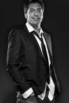Javier Bardem - at ease
