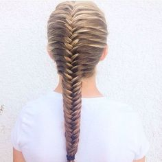 11 Cool and Practical Hairstyle for Training      Hair Style     Fischschwanz Franz    sisch Braid Frisuren